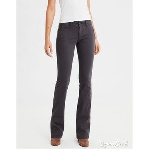 AE Dark Gray Bootcut Pants